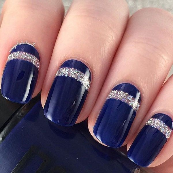 Midnight blue design